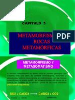 Cap 5. Metamorfismo y Rocas Metamorf