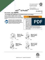 312001EN-S - Graco Magnum Airless ProX7 ProX9 User Manual