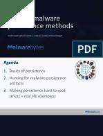 Malware persistent