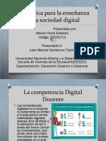 Didáctica Para La Enseñanza en La Sociedad Digital.