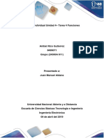 Formato Informe Individual