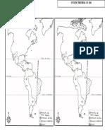 MAPA DE VIRREINATOS. Division Territorial en 1650