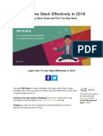 How to Use Slack Effectively in 2019 by Standuply