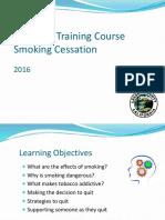 SmokingCessation-Life Skills Training Course
