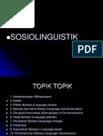 Socio Linguist i k