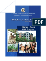 Mba Regis Program 2014