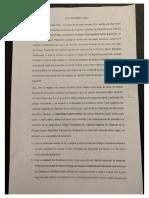 Acta Directorio IMP - Destitución Obispo Durán