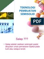 Pembuatan Semi Solid