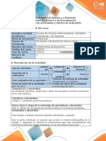 Guía de actividades y rubrica de evaluación - Fase 2 - Aplicar los conceptos de economía básica en la situación planteada.docx