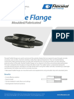 Flexseal Puddle Flange Moulded Fabricated