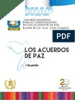 1. Acuerdo Marco Sobre Democratización Para La Busqueda de La Paz Por Medios Políticos