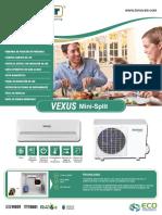 Innovair Vexus Mini Split Brochure Spanish