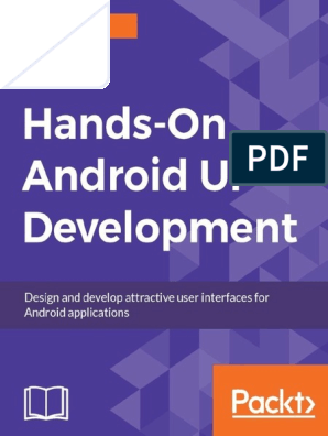 Hands On Android Ui Development Jason Morris Pdf Android Operating System Application Programming Interface