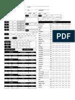 Mashup 2.0 Character Sheet Pg. 1