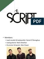 The Script presentation favorite band.pptx