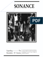 Resonance Booklet