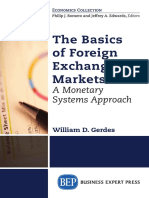 The basics of foreign exchange markets _ a monetary systems approach - WILLIAM GERDES (2015, Business Expert Press).pdf