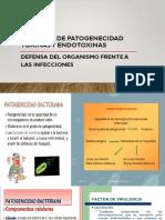 Microbiologia Med. Semana 3 Factores de Patogenecidad Toxinas y Endotoxinas.pptx