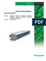 Catalogue Fan Coil Unit Fww V