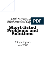 44th International Mathematical Olympiad.. Short-listed Problems and Solutions (Tokyo, 2003)(71s)_MSch