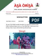 Asa Orisa News 26 December 2018