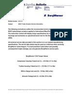 BW B2UV Actuator Service Information