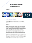 Success Factors Model Of Place Marketing