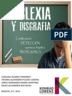 Cartilla Dislexia y Disgrafia