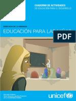 Unicef Educa Cuaderno Didactico Educacion