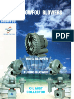 Showfou Ring Blower - Turbo Blower - Oil Mist Collector - BS-BP-BL-BM-BV