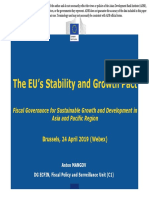 The EU's Stability and Growth Pact