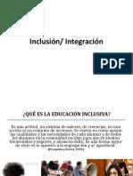Inclusión e Integracion