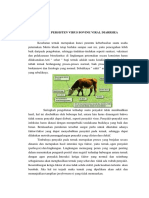 Infeksi Persisten Virus Bovine Viral Diarrhea
