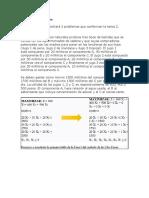 Ejercicio 1 Programacion Lineal