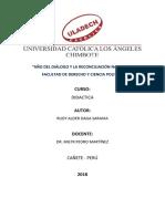 Producción de La Unidad III Rudy Daga Saravia
