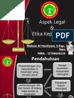 Aspek Legal & Etik Keperawatan