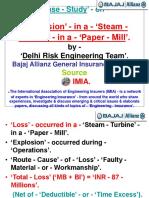 'Explosion' - In a - 'Steam - Turbine' - In a - 'Paper - Mill'