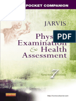 Physical Examination and Health Assessment,