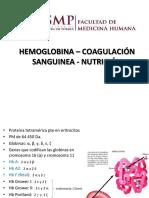 Hb Coagulación Nutrición Usmp 2017