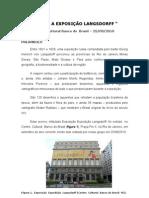 VISITA A EXPOSIÇÃO LANGSDORFF