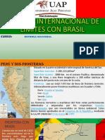 Tratado Internacional de Limites Con Brasil Expo