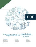 Lu Algorithmic Revolution is Here