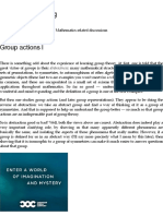 Group actions I | Gowers's Weblog
