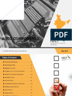 Auto Components Report May 2018