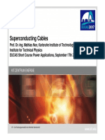 Superconducting Cables - Dr. Mathias Noe
