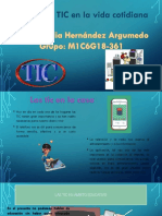 Uso de las TIC en la vida cotidiana
