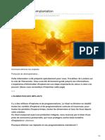 Protocole de Désimplantation
