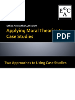 Applying Moral Theories Ethics