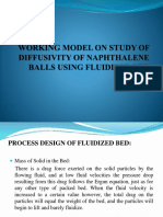 Working Model on Study of Diffusivity of Naphthalene New