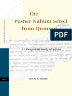 The Pesher Nahum Scroll from Qumran.pdf